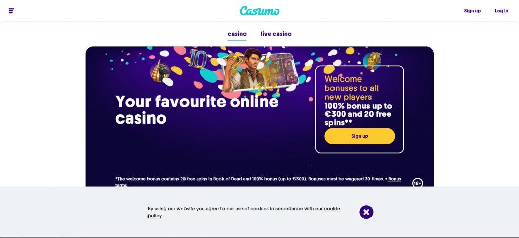 Обзор онлайн-казино Casumo